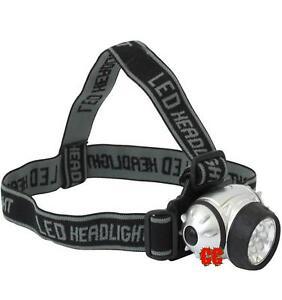 7-LED-TESTA-PER-TORCIA-LAMPADA-LUCE-DA-LAVORO-FRONTE-bicicletta-corsa-o-WORK
