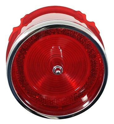1965 65 Chevy Impala Tail Light Lens with Chrome Trim