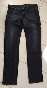 tolle-Mexx-Jeans-Slim-Fit-W30-L33-grauschwarz