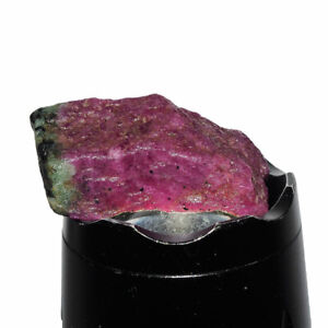 Natural Ruby Zoisite Rough 80.60 Cts Stunning Bi Color Superb Unheated Gemstone