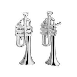 Tiny-Trumpet-Shaped-Stud-Earrings-in-Gold-Music-Themed-Jewelry-Cute-Earrings