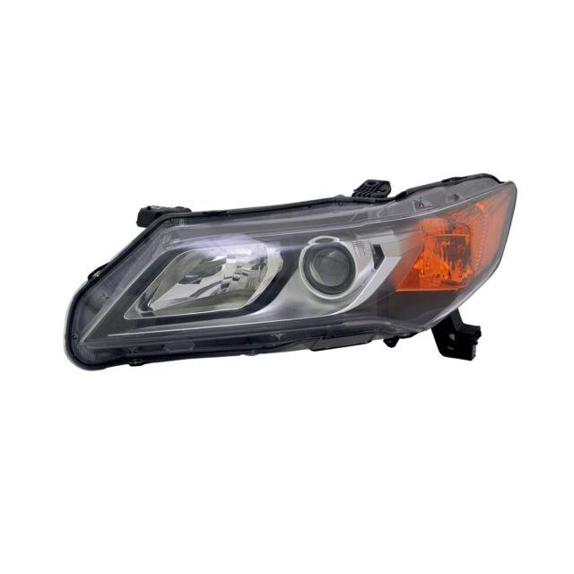 Headlight Assembly-Base, Sedan Left TYC 20-9328-00 Fits