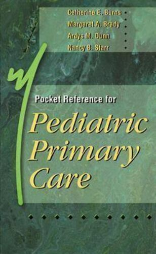Pocket Reference for Pediatric Primary Care-ExLibrary