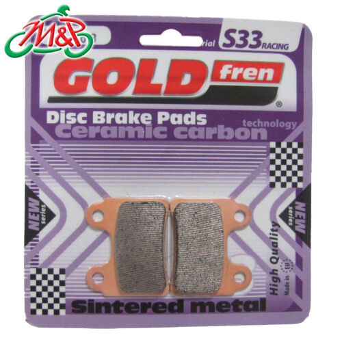 Beta Rev 3 270 2007 Front Goldfren S33 Disc Brake Pads