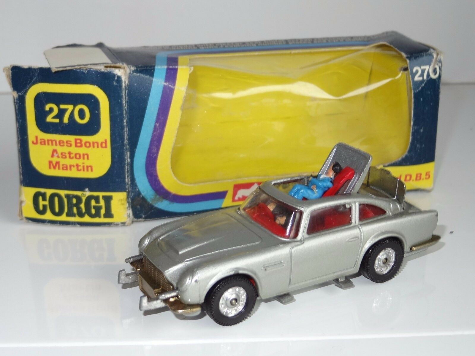 (c) corgi whizwheels JAMES BOND 007 ASTON MARTIN DB5 - 270