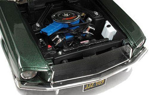 1968 Mustang GREEN Steve Steve Steve McQueen BULLITT 1 18 GreenLight 12822 896531