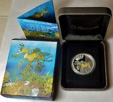 SEA DRAGON THE REEF AUSTRALIAN SEA LIFE 0.5 OZ .999 Silver Coin ROUND GREAT GIFT