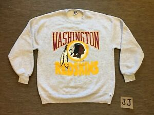 439d558a Details about Washington Redskins Vintage sweatshirt XL Russell Athletic  NFL Football USA