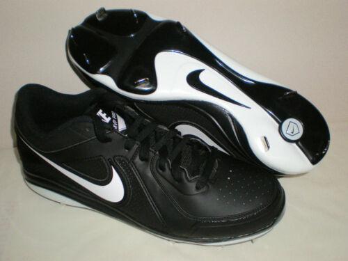 the latest 937c1 67d55 ...  80 Mens NIKE Air MVP Pro Metal Baseball Cleats 524641-010 BLACK WHITE  sz 13.5
