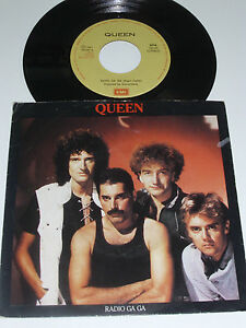 QUEEN-Radio-Ga-Ga-1984-PORTUGAL-7-034-Single-RARE
