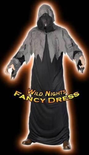 HALLOWEEN FANCY DRESS # GRAVESIDE GHOUL ROBE//HOOD//BELT