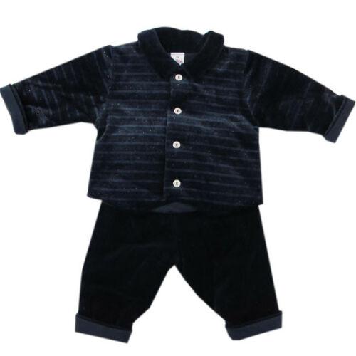 Pantalon Veste Garçons Taille 62-NEUF Fegou babyanzug voiture Costume Taufanzug 2tlg