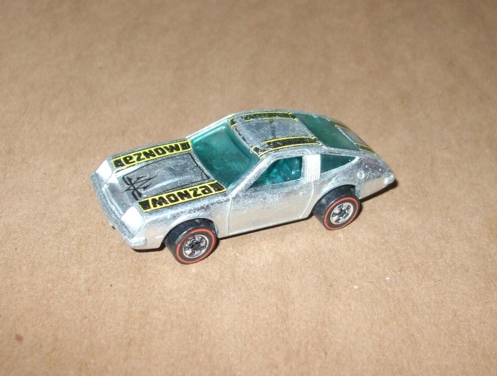 Entrega rápida y envío gratis en todos los pedidos. 1974 Hot Wheels Cromo Chevy Chevy Chevy Monza 2 + 2 líneas rojas tiene menor Ware. muy agradable lo  Ahorre 60% de descuento y envío rápido a todo el mundo.