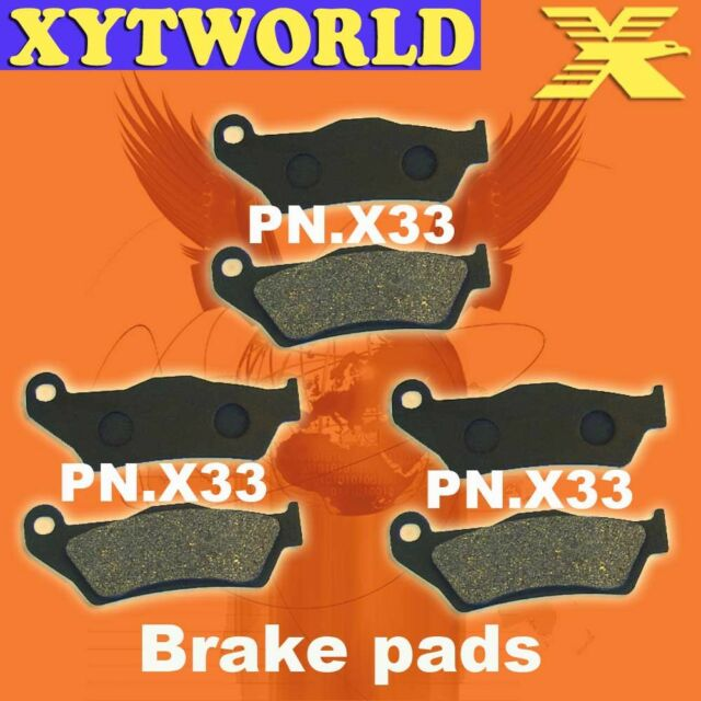 Front Rear Brake Pads GAS-GAS Quad Wild HP 50 2004-2007