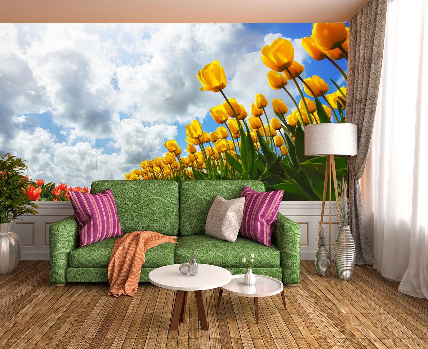 3D Himmel Blaumen 95 Fototapeten Wandbild Fototapete Bild Tapete Familie Kinder