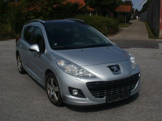 Peugeot 207 1,6 HDi 92 Active SW Van Diesel 2011 sølvmetal km