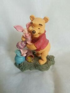Simply Pooh Hugs are Better than Hunny - Pooh and Piglet Figurine
