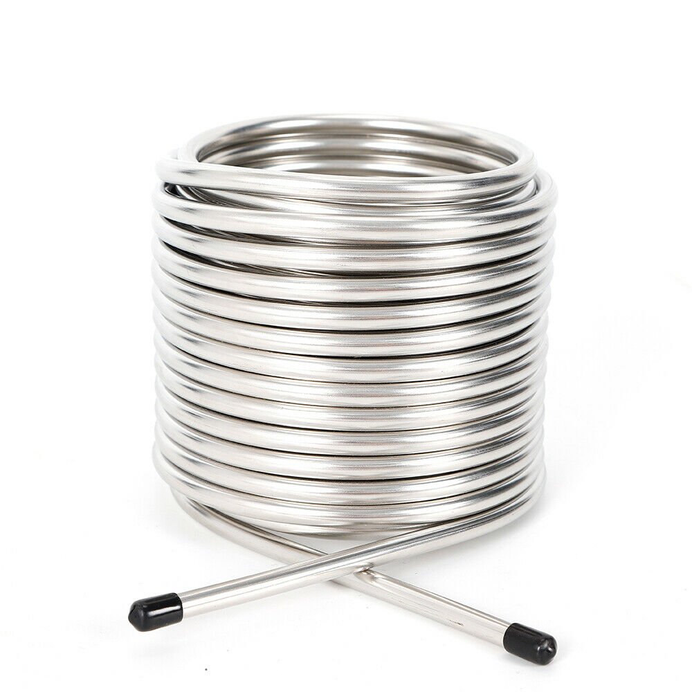 304 Stainless Steel Wort Chiller Immersion Super for Home Brewing Equipment 2