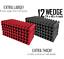 "thumbnail 1 - Acoustic Foam 12 Pack Super Studio Set 6xl RED & 6xl GREY Wedge 24x48x4"""