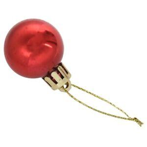 24-Pezzi-Chic-Natale-Di-Baubles-Albero-Scuro-Glitter-Xmas-Ornamento-Palla-D-C9J3