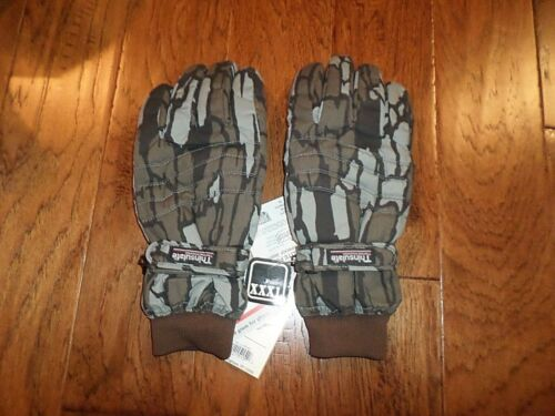 TREE BARK CAMO DRI-LITE PLUS THINSULATED WINTER GLOVES WATER RESISTANT