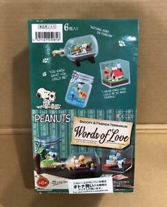 Snoopy-amp-Friends-Terrarium-Words-of-Love-Set-of-6-NEW
