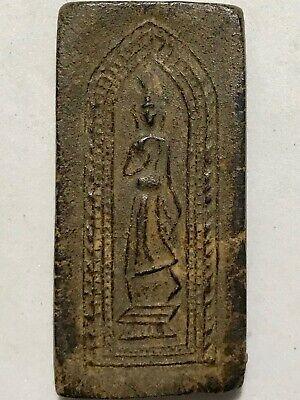PHRA LEELA LP BOON RARE OLD THAI BUDDHA AMULET PENDANT MAGIC ANCIENT IDOL#3