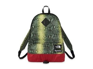100% najwyższej jakości najbardziej popularny wspaniały wygląd Details about 2018 S/S Supreme x The North Face Snakeskin Lightweight  Backpack