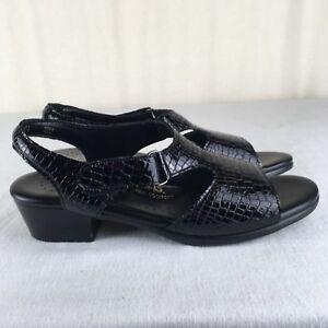 Sas Tripad Comfort Suntimer Sandals Womens 9 Slim Black