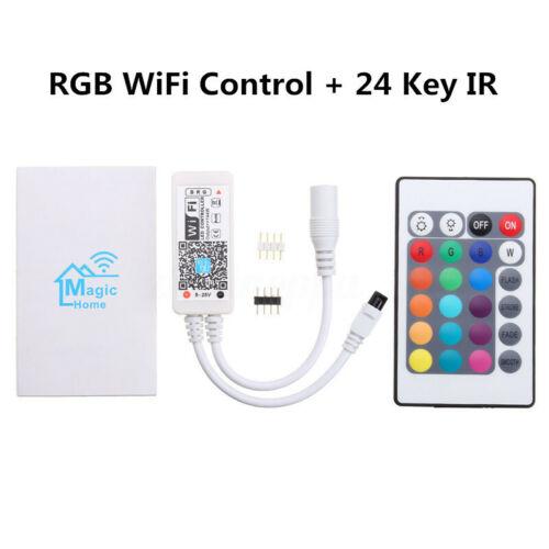 10m-20m RGB 5050 SMD LED Stripe Leiste Streifen Band WiFi APP Controller Trafo