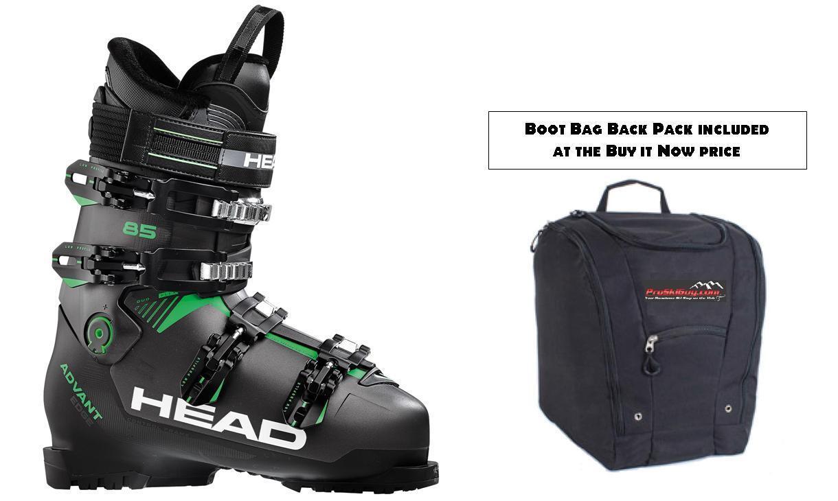 Head Advant Edge 85 ski boots size 28.5 (w- BOOT BAG at BuyItNow) AdvantEdge NEW
