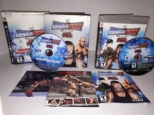 WWE-Smackdown-Vs-Raw-2008-Collector-039-s-Edition-Sony-Playstation-3-2007