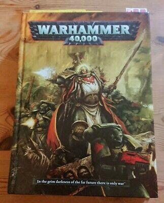 Audace Warhammer 40000 - 6th Edizione Rilegato Regole-condizioni Eccellenti-mostra Il Titolo Originale