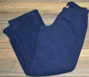 6ecc9c41e61 Image is loading So-Authentic-American-Heritage-Juniors-Navy-Fleece-Pajama-