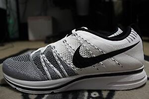 7e05f8964627 ... official store image is loading new nike flyknit trainer white black  kanye west 75694 6e65a