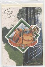 NEUF CARTE BONNE FETE + ENVELOPPE  !! 10 CARTES ACHETEES = PORT GRATUIT chasse