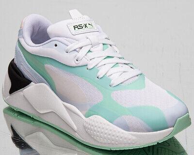 PUMA RS X3 Plas _ Tech Femmes Brouillard Vert Athlétique Décontracté Vie Baskets | eBay