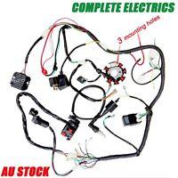 250cc Complete Electrics Wiring Lifan Ducar Razor Cdi Coil Wire Harness Solenoid