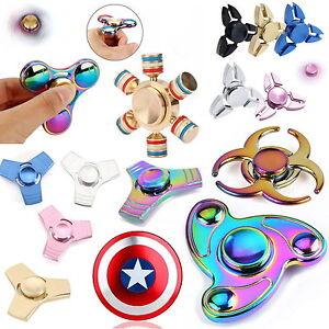 Fidget-Spinner-anti-estres-MANO-Alubox-TDAH-anti-estres-juguete-Plata-Oro