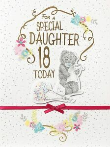 Image Is Loading FOR A SPECIAL DAUGHTER 18 TODAY LARGE Me