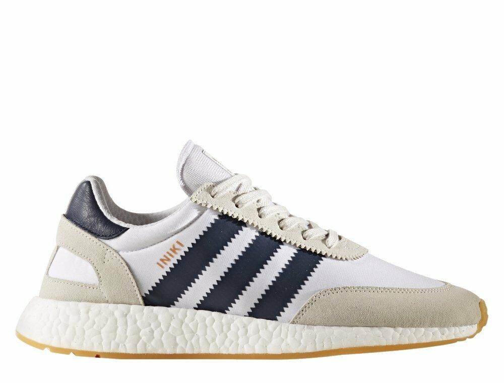 Adidas Iniki Runner White Collegiate Navy Size 13. BY9722 Ultra Boost NMD yeezy