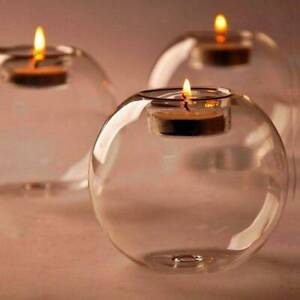 Crystal-Glass-Round-Candle-Tea-Light-Holder-Candlestick-Xmas-Party-Home-Decor-L7