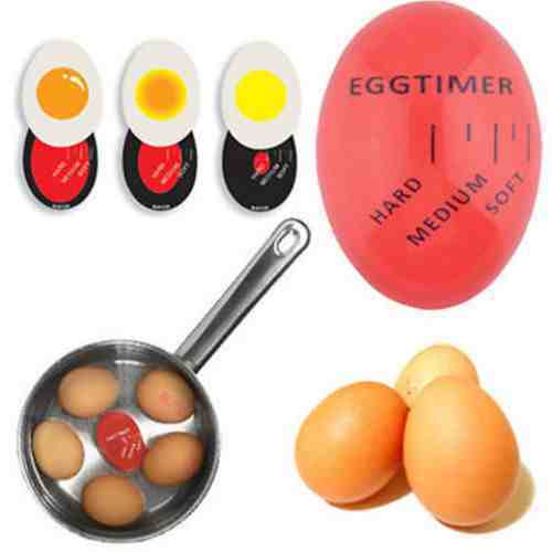 Egg perfect color changing minuterie yummy soft hard boiled eggs cuisine cuisine ht