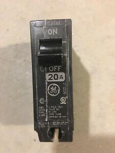 GE THQB1120 1 Pole 20A Circuit Breaker