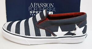 Sperry-Top-Sider-Size-7-5-US-Flag-Loafers-New-Mens-Shoes
