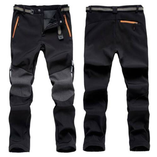 Breathable Mens Thick Cargo Combat Pants Outdoor Climbing Tactical Trousers