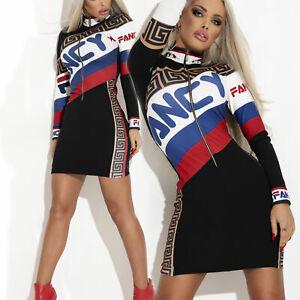 By-Alina-Mexton-Damenkleid-Minikleid-Longpullover-Bodycon-Kleid-Longshirt-XS-M