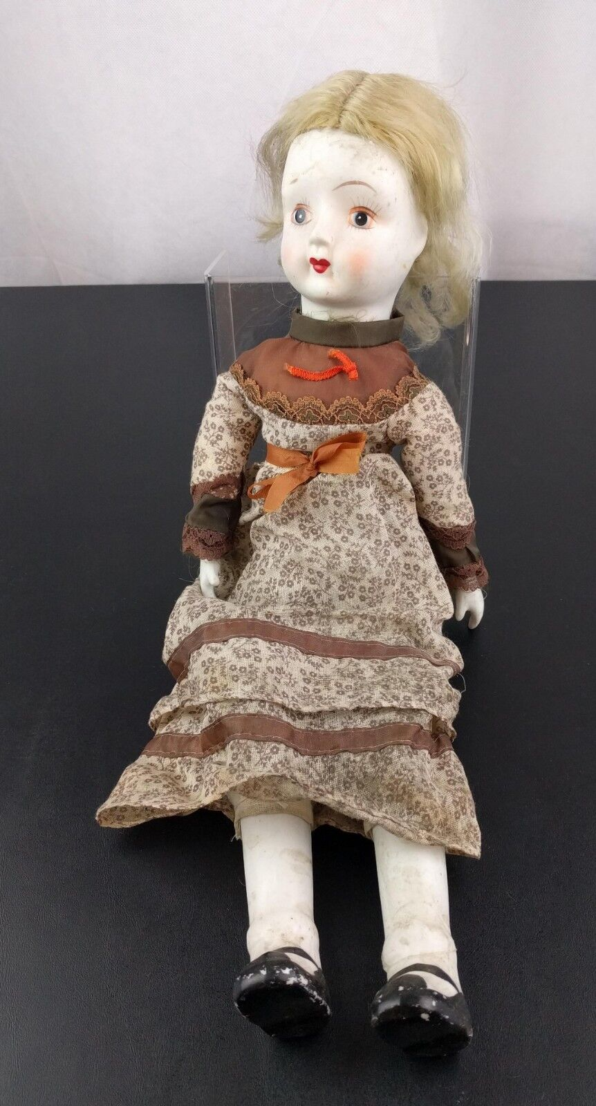 Antique Paranormal Creepy Haunted Looking Baby Doll Porcelain Spirit Scary Prop