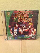 Return of Double Dragon Custom Sega Dreamcast Game.
