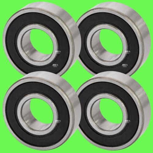 6206 2RS Kugellager 30 x 62 x 16 mm Rillenkugellager für 30 mm Welle 4 Stück ►